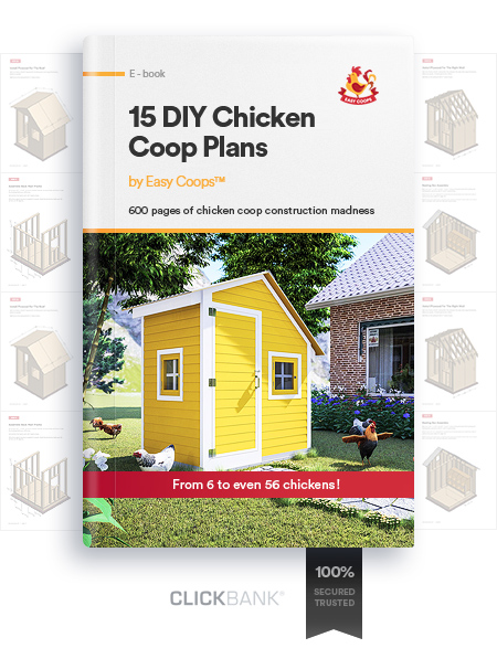 15 DIY Chicken Coop Plans Ebook